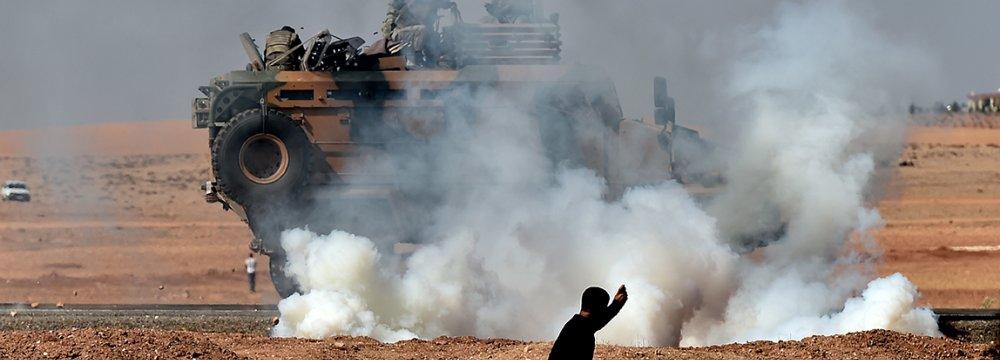 Over a Dozen Dead as  Turkish Police, Kurds Clash