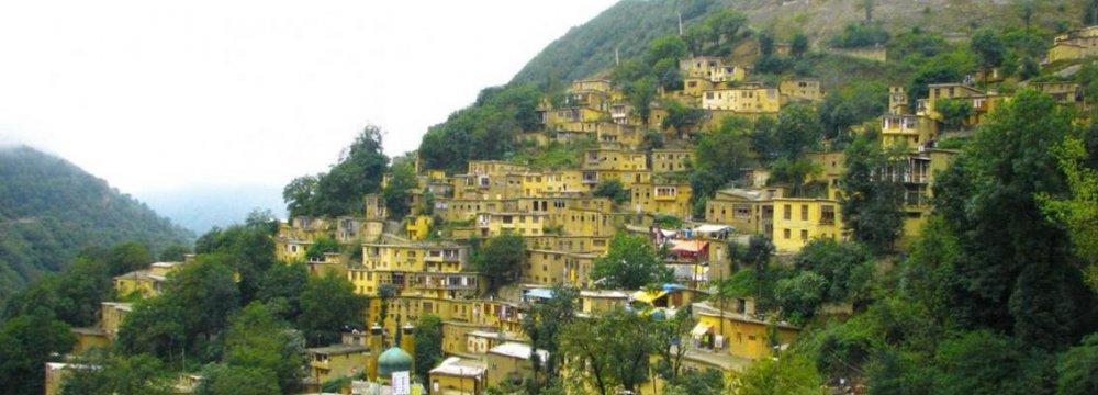 Masuleh the Tiny  Terraced Town