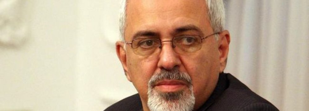 Nuclear Talks Resume Jan. 15, Zarif Says