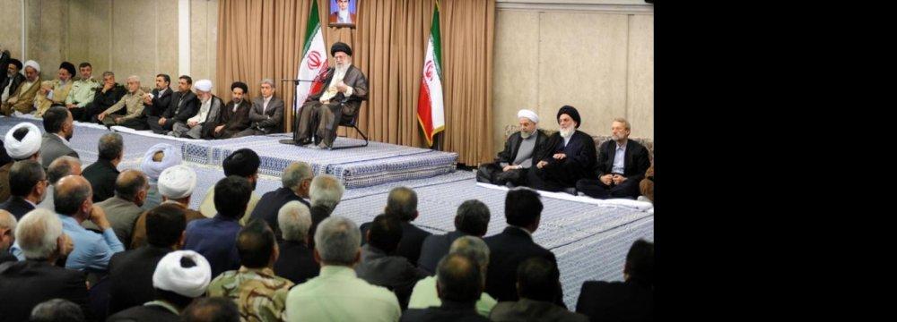 Leader Reemphasizes Nuclear Redlines