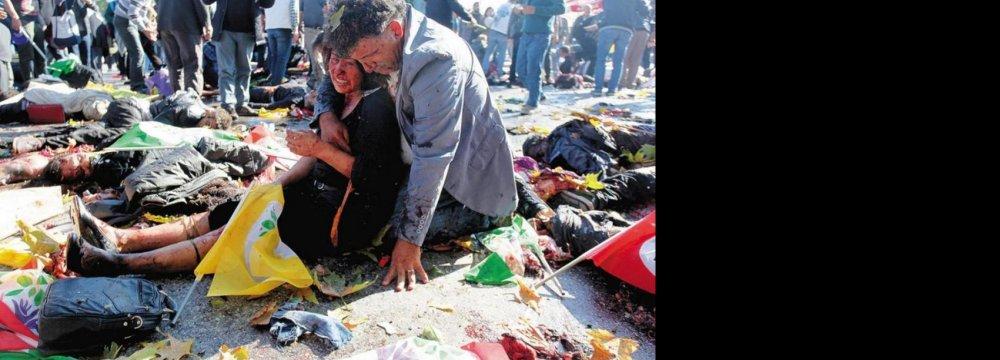 86 Killed in Ankara Terror Attacks