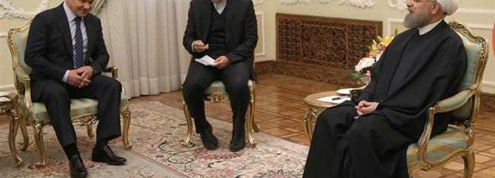 Putin's Message Conveyed to Rouhani