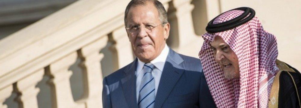 Russia, S. Arabia  Respond to Zarif's Letter