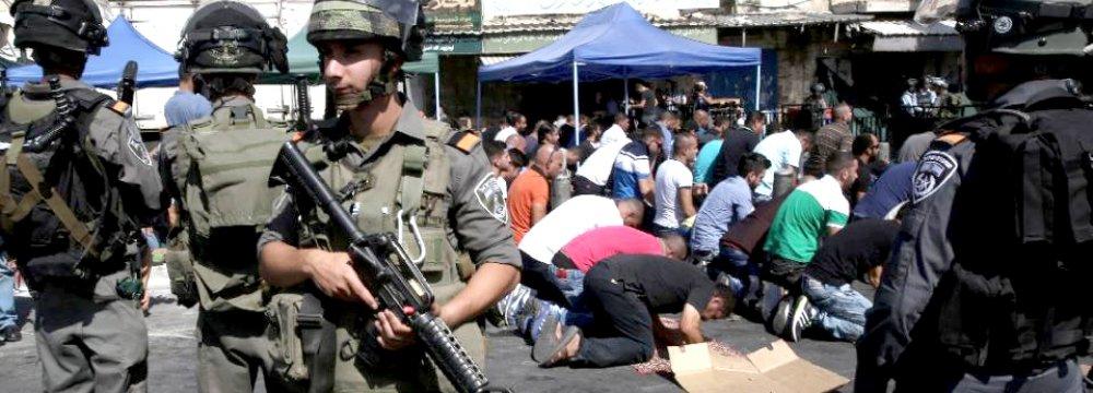 """Obama """"Concerned"""" by Mideast Violence"""