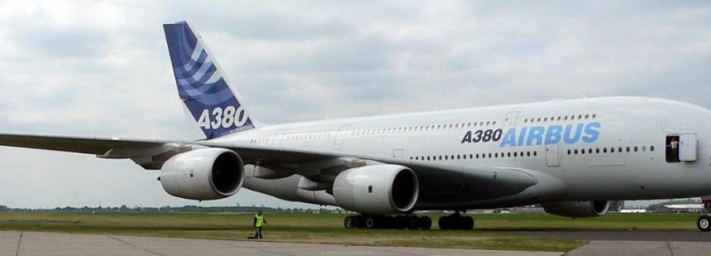 Airbus Poised to Reenter  Iran's Aircraft Market