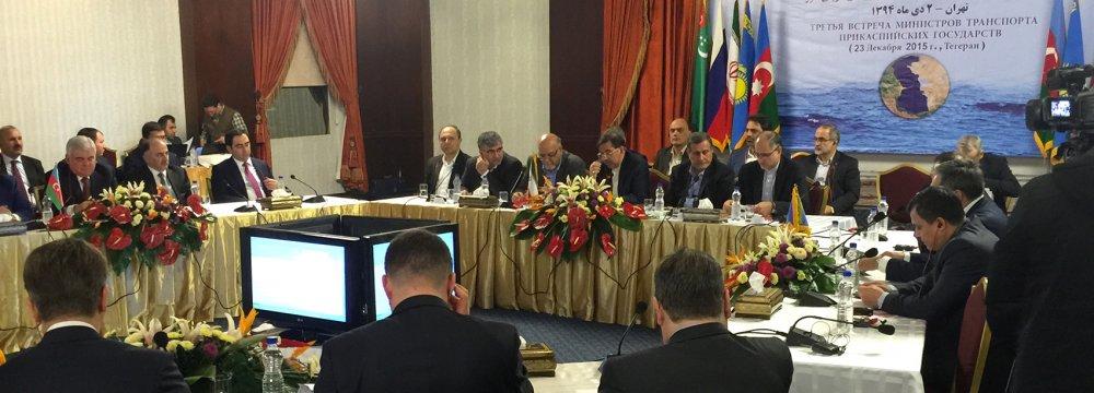 Caspian States Discuss Future Transport Projects