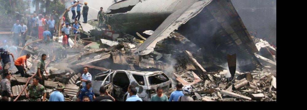 115 Dead  in Indonesia  Plane Crash