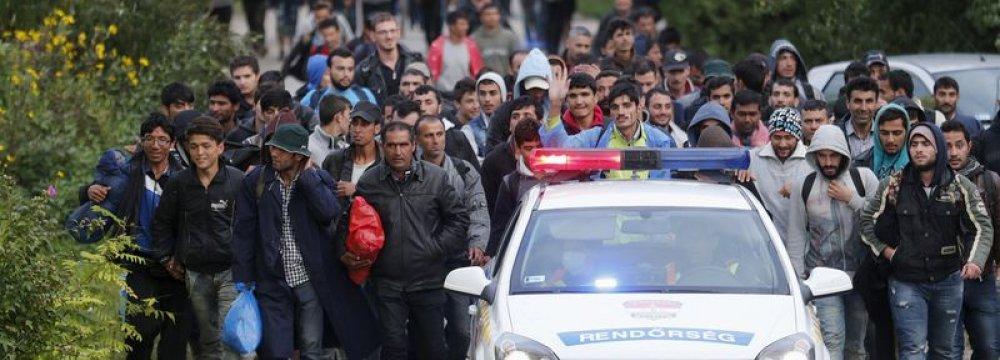 Hungary Punishing Migrants
