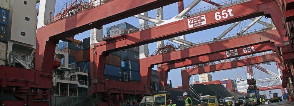 Port Activity in Hormozgan