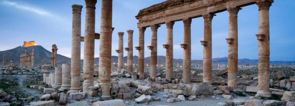 Ancient Syria City of Palmyra Threatened