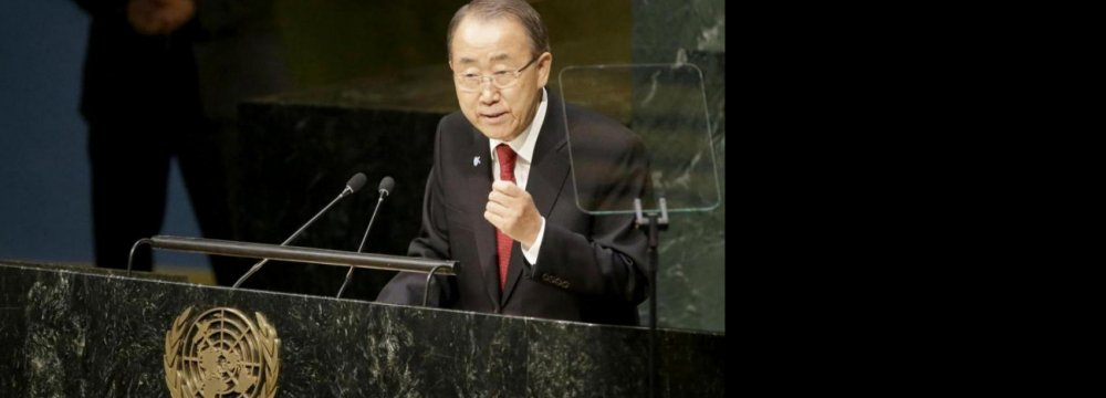 UN Chief: World Suffering From Lack of Empathy