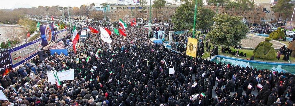 Anniv. of  Pro-Establishment Rallies Commemorated