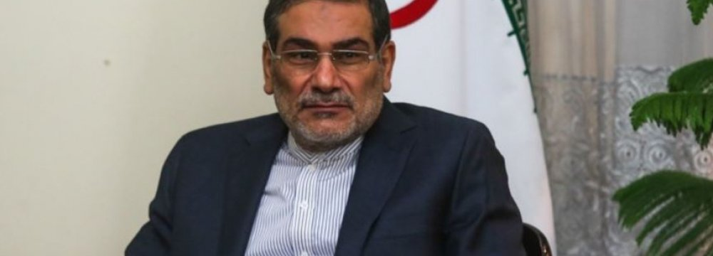 Shamkhani: No Substitute for Syrian Reconciliation