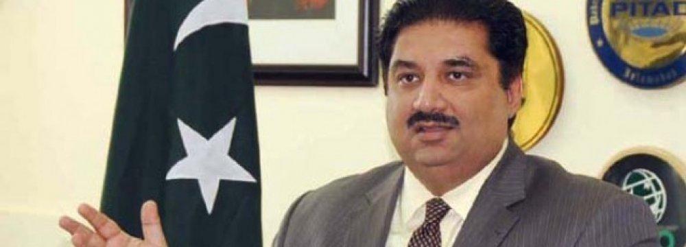 Pakistani Minister to Visit for FTA Talks