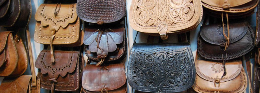 Iran's leather exports currently stand at $120 million per annum.