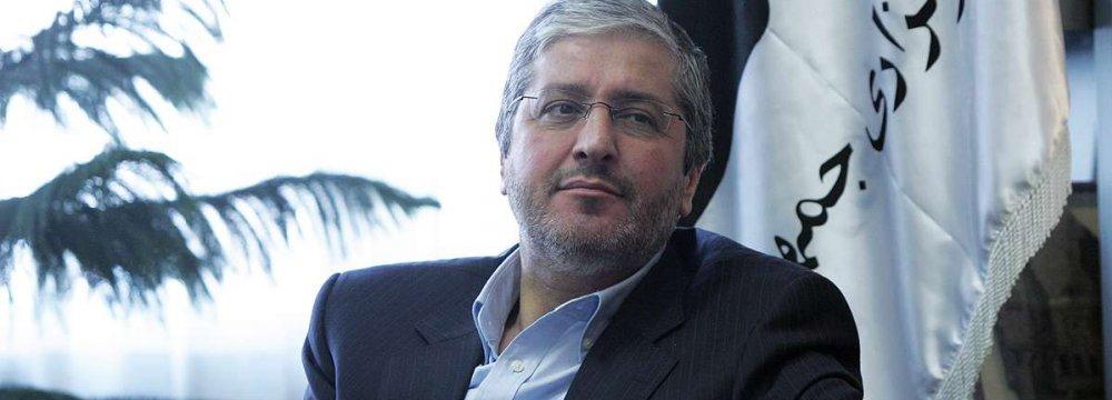 Iran Air CEO Farhad Parvaresh