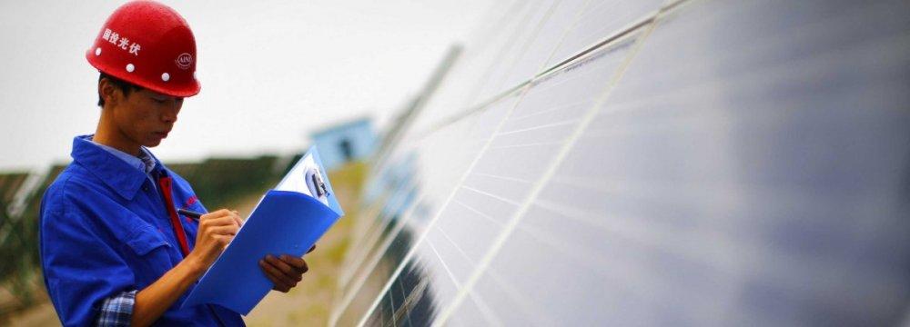 China Renewable Energy Expansion  on Track