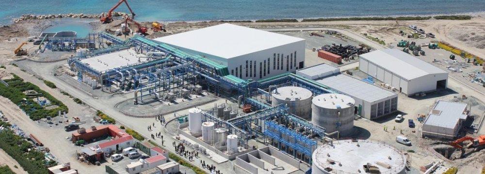 Water Desalination in Southern Iran on Agenda