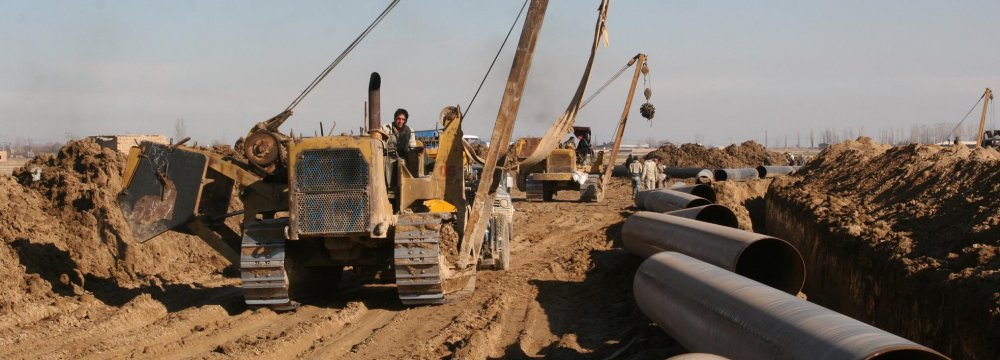 Iran may expedite the construction of gas infrastructure from the south to the north in the face of a supply cut in Turkmen gas.