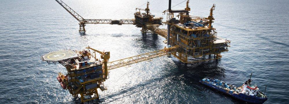 2,300-Ton SP Gas Platform Installed