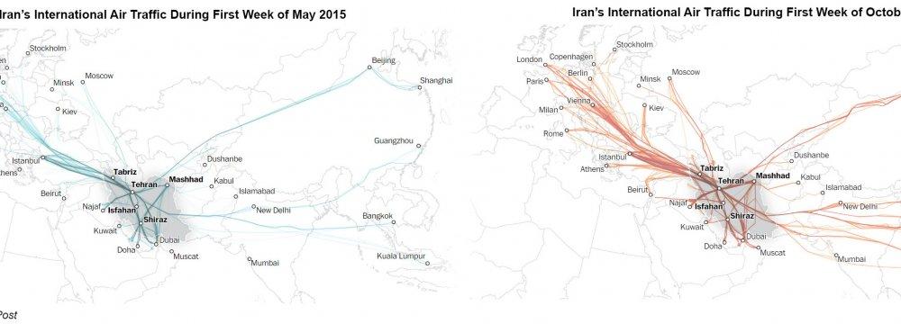 Iran Moves Closer to  Becoming Air Transport Hub
