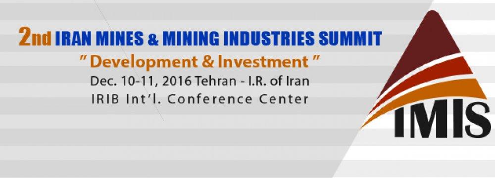 Iran Mining Confab Scheduled