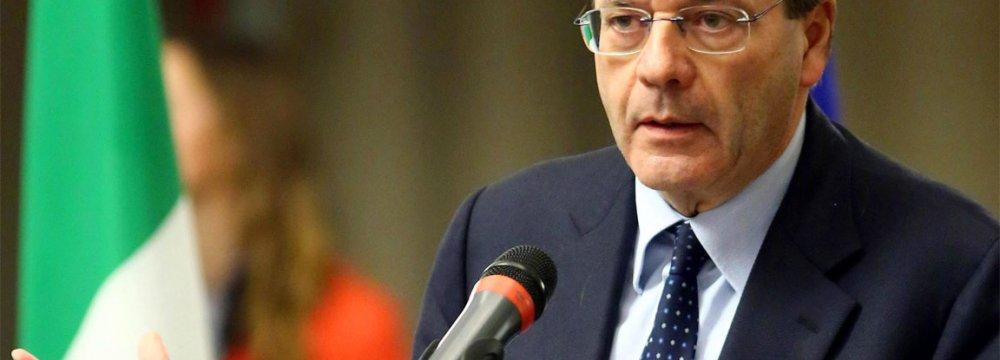 Italian FM Appointed Premier