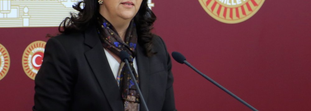 Turkish Police Detain Pro-Kurdish  Deputy Parliament Speaker