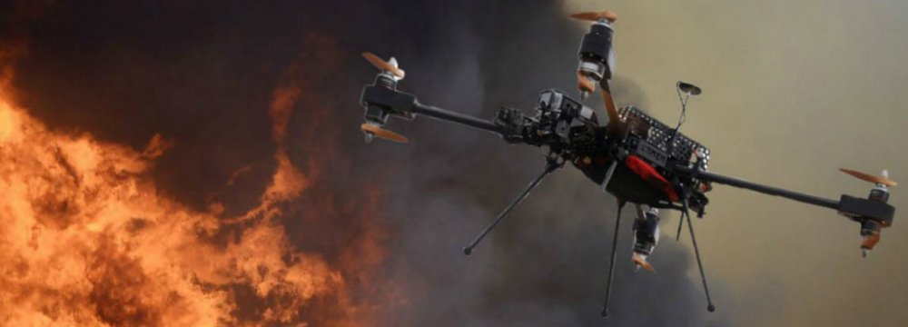 Iranians Develop Firefighting Drone