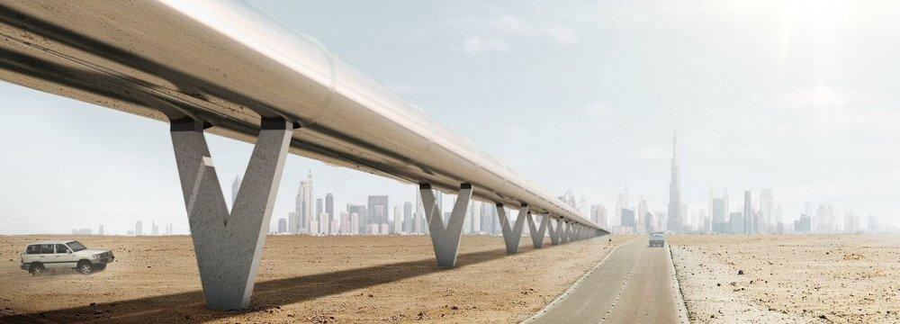 UAE has signed a second Hyperloop deal.