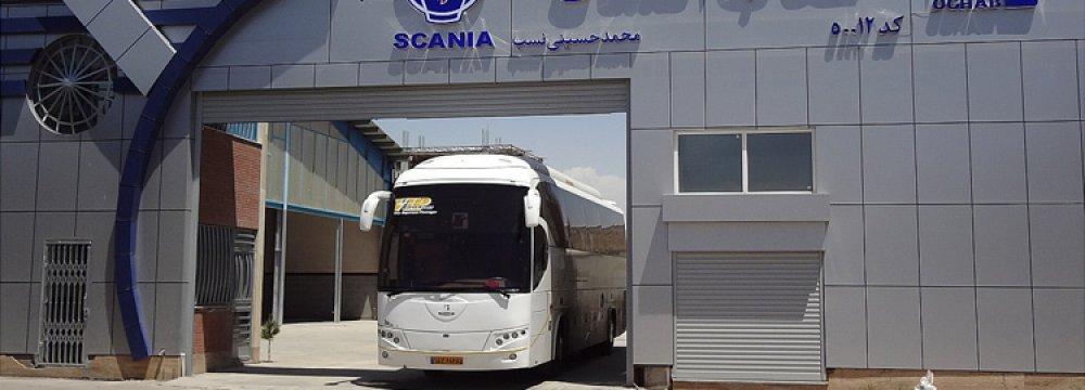 Turkey's Otokar Signs Deal With Iran's Oghab Bus Company