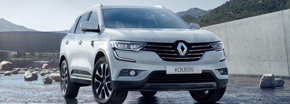 Renault Koleos at 2 Billion Rials