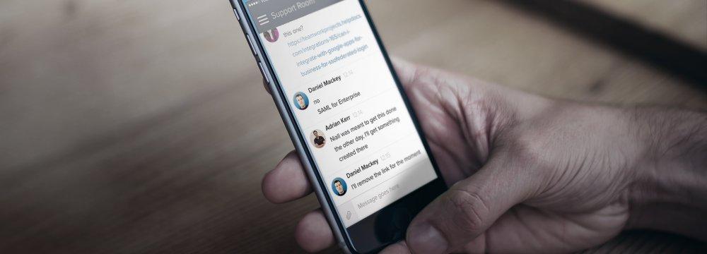 Local Messaging App Mediocre