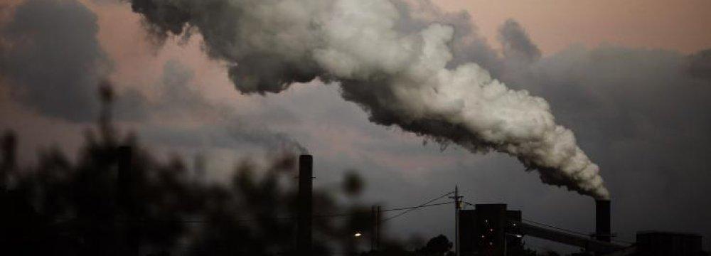 greenhouse gas Emissions Rising in Australia