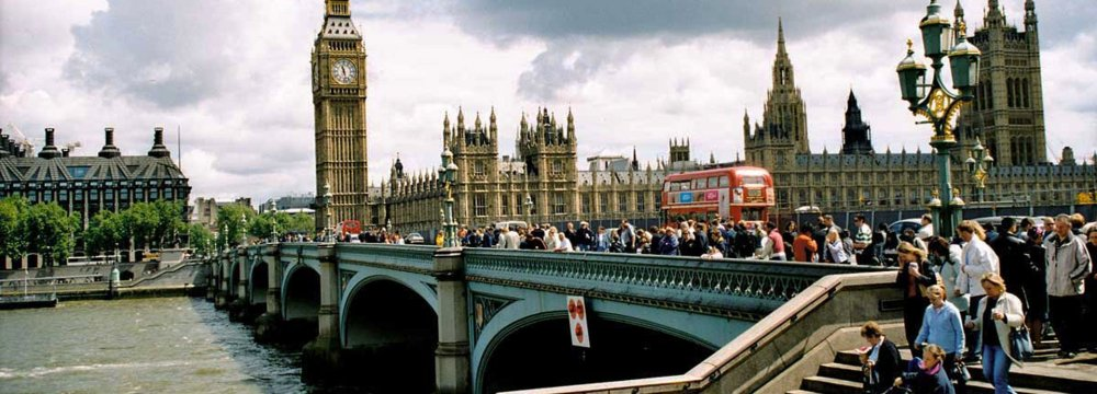London is one of the most visited cities in the world.