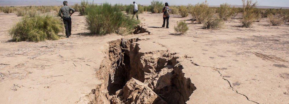 Drought Tightening Grip on Semnan