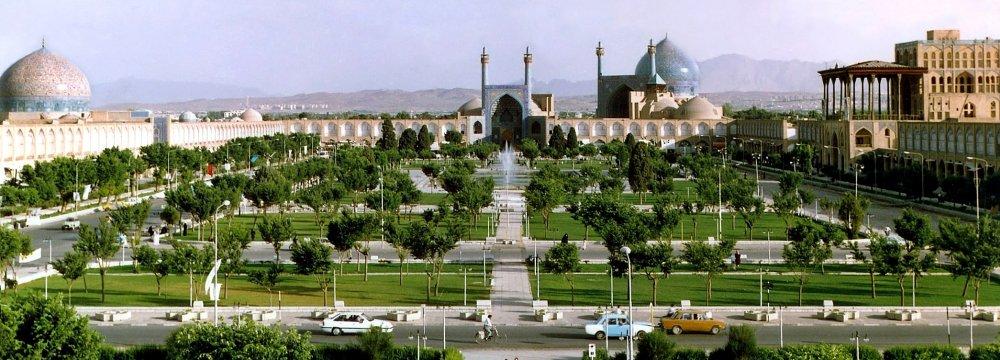 Buffer Zones of Isfahan Landmarks Demarcated