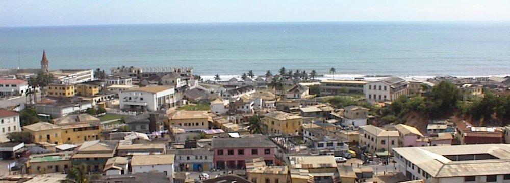 Ghana GDP Shrinks