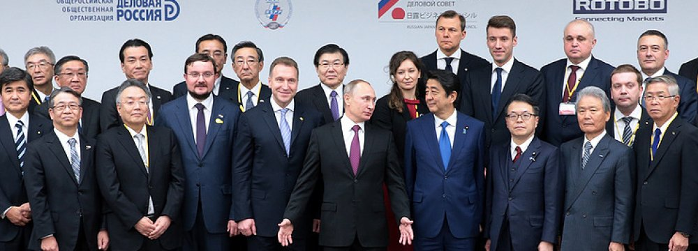 Japan, Russia Sign Deals Worth $2.5b