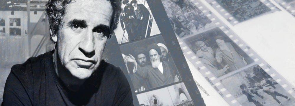 Book on Setboun's Photos  of 1979 Islamic Revolution