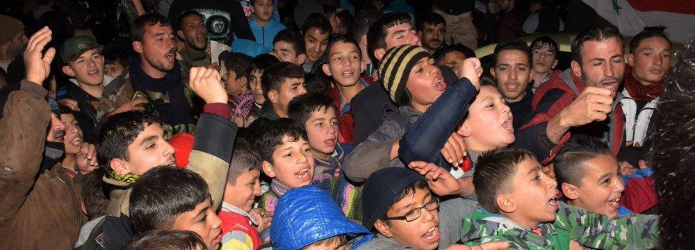 98% of Aleppo Under Gov't Control