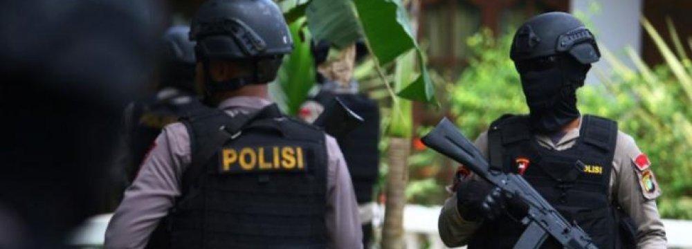 Indonesian Police Kill 3 Terror Suspects