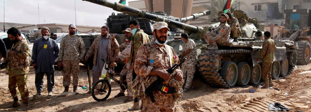IS Loses Control of Sirte