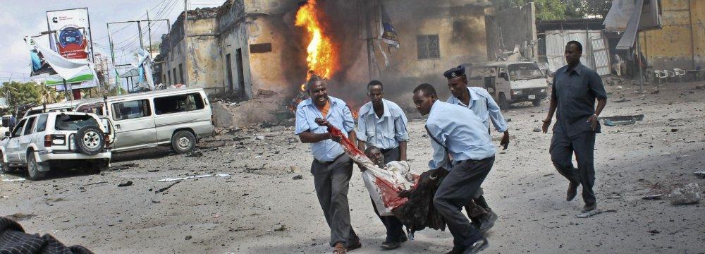 Mogadishu Blast Claims 10 Lives