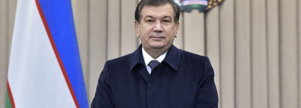 Uzbek president-elect, Shavkat Mirziyoyev