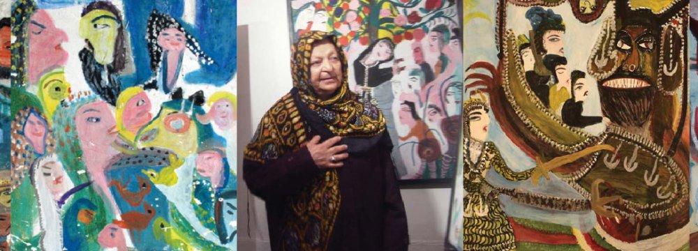 Mokarrameh Ghanbari and her works