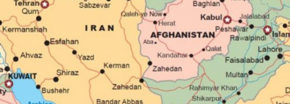 Transport MOU With Afghans