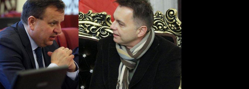 Czech, Slovak Delegations  1st Post-Sanctions Visitors