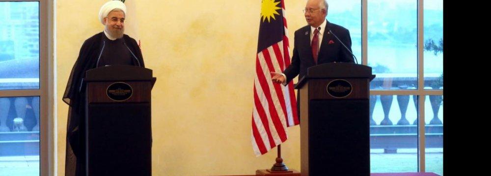 Iran Malaysia Set To Uplift Cooperation Financial Tribune