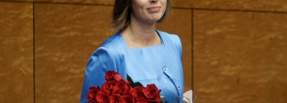 Estonia Elects 1st Female President
